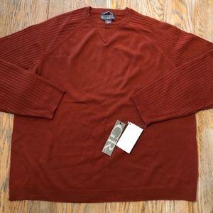 GUY RISOLDI 100% merino wool sweater/NWT/MXL
